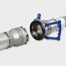 Pipe end coupling / for hoses / hose / aluminum