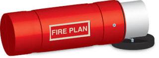 fire plan holder