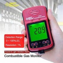 personal flammable gas detector