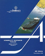 ADMIRALTY DISTANCE TABLE