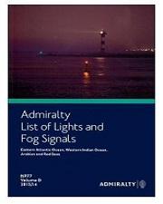 ADMIRALTY LIST OF LIGHT & FOG SIGNAL