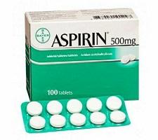 ASPIRIN TABLET 100 TAB