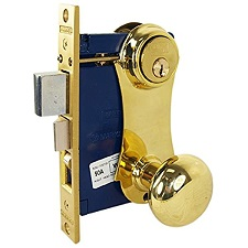 CYLINDER MORTISE WITH KNOB